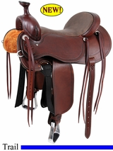 "15"" to 17"" Cashel Outfitter Saddle, Reg or Wide Tree"