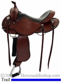 "15"" 16"" 17""  Cashel Trail Saddle, Reg or Wide Tree"