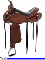 "** SALE ** 15"" to 17"" Cashel Trail Saddle, Reg or Wide Tree"