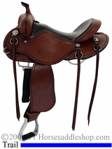 "** SALE **15"" to 17"" Cashel Trail Saddle, Reg or Wide Tree"