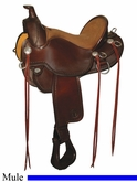 "15"" to 17"" Circle Y Long Ear A-Fork Flex2 Mule Trail Saddle 1158 *free pad or cash discount*"