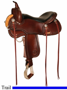 "** SALE **15"" to 17"" Circle Y Cold Springs Trail Saddle 2616 *free gift*"