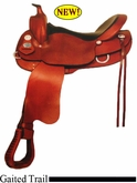 "15"" to 17"" Crates Basic Gaited Trail Saddle 280"