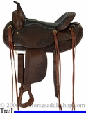 "15"" to 17"" Custom Dakota Haflinger Saddle 2214"