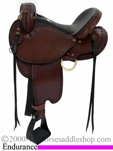 15inch 16inch 17inch Dakota Endurance Trail Saddle 313