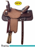 "15"" to 17"" Dakota Roping Saddle 556"