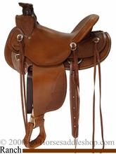"15"" to 17"" Dakota Wade Tree Saddle 809"