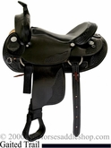 "15"" 16"" 17"" Dakota Walker Horse Saddle (gaited bars) dk 750"