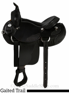 "15"" to 17"" Dakota Walking Horse Gaited Saddle 750"