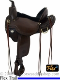 "15"" to 17"" Circle Y Elk Ridge A Fork Flex2 Trail Saddle 1156 *free pad or cash discount*"