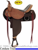 "DISCONTINUED 15"" Fabtron High Trail Homesteader Saddle FQHB 7652 7654 7656"