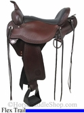 "** SALE **15"" to 17"" Circle Y Flagstaff Flex2 Trail Saddle 1571 *free gift*"