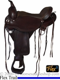 "15"" 16"" 17"" Circle Y Flagstaff Flex 2 Trail Saddle 1571 *FREE MATCHING CIRCLE Y SADDLE PAD OR CASH DISCOUNT!*"