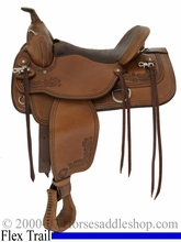 "15"" 16"" 17"" Tex Tan Seminole Flex Trail Saddle Medium or Wide (FQHB) Tree 08-tf411p6"
