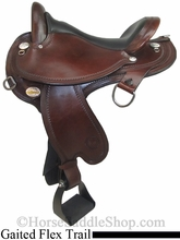 "** SALE **15"" to 17"" Circle Y Virginia Flex2 Endurance Trail Gaiter Saddle 1588 *free pad or cash discount*"