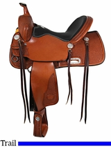 """** SALE ** 15"""" to 17"""" Billy Cook Trail Saddle 1536"""