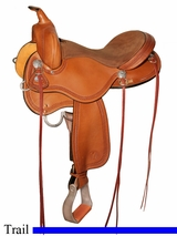 "15"" to 17"" Circle Y Gillette Trail Saddle 2615"