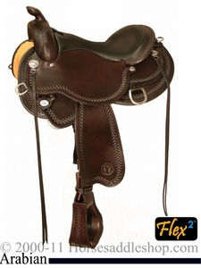 "** SALE **15"" to 17"" Circle Y Gobi Arabian Flex2 Saddle 1564 *free gift*"