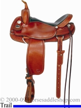 "15"" to 17"" Meleta Brown Freedom Trail Saddle 9235"