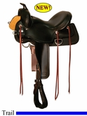 "15"" 16"" 17"" Reinsman Square Skirt Trail Saddle 4133"