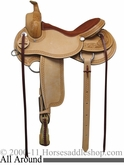 "** SALE **15"" 16"" 17"" Rocking R All Around Work & Trail Saddle 1124"
