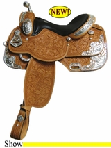 "15"" to 17"" Rocking R Equitation Show Saddle 1058DS3"