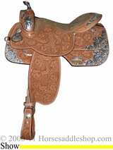 "15"" 16"" 17"" Rocking R Equitation Show Saddle rr1057"