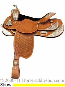 "15"" 16"" 17"" Rocking R Equitation Show Saddle rr1060"