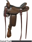"** SALE **15"" 16"" 17"" Rocking R Gaited Trail Saddle 1217"