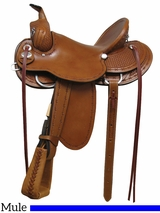 "15"" 16"" 17"" Rocking R Mule Saddle 1685"