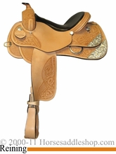 "15"" 16"" 17"" Rocking R Reining Saddle 2728"