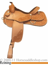 "15"" 16"" 17"" Rocking R Reining Saddle 2736"