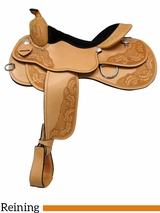 "15"" 16"" 17"" Rocking R Reining Saddle 3459"