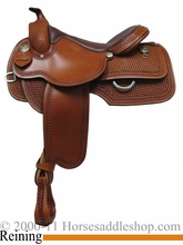 "15"" 16"" 17"" Rocking R Reining Saddle 811"
