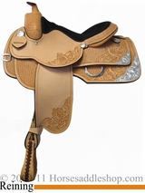"15"" 16"" 17"" Rocking R Reining Saddle 852"