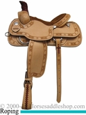 "15"" 16"" 17"" Rocking R Roping Saddle 2592"