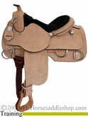 "** SALE **15"" 16"" 17"" Rocking R Training Saddle 1300"