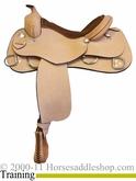 "** SALE **15"" 16"" 17"" Rocking R Training Saddle 2300"