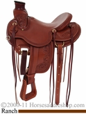 "** SALE **15"" 16"" 17"" Rocking R Wade Tree Ranch Saddle rr1737"