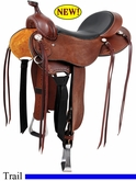 "** SALE **15"" 16"" 17"" Roughout Cashel Trail Saddle, Reg or Wide Tree"