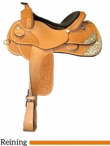 "** SALE ** 15"" 16"" 17"" South Bend Saddle Co Reining Saddle 2728"