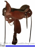 "** SALE **15"" to 17"" Circle Y Tree Free Just-B-Natural Ozark Trail Saddle 3911 *free gift*"