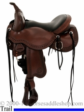 """** SALE **15"""" to 17"""" Circle Y Tree Free Just-B-Natural Trail Saddle 3910 *free pad or cash discount*"""