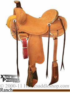 "** SALE **15"" to 17"" Circle Y XP Oakdale Ranch Saddle 1118 *free gift*"