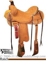 "** SALE ** 15"" to 17"" Circle Y XP Oakdale Ranch Saddle 1118 w/Free Pad"