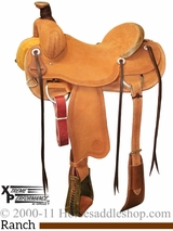 "15"" to 17"" Circle Y XP Oakdale Ranch Saddle 1118 w/Free Pad"
