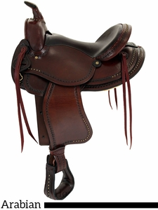 "15"" 16"" American Saddlery Austin Arabian II Saddle am921"