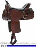 "15"" 16"" American Saddlery Deluxe Enduro Trail Saddle am1383"