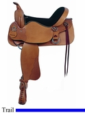 "15"" 16"" American Saddlery Enduro Trail Saddle am1380-1381"