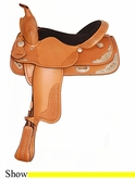 "15"" 16"" American Saddlery Texas Best Spotted Show Saddle am1360"